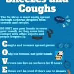 Cover coughs and sneezes during flu season