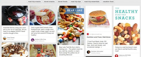 Road Trip Food on Pinterest