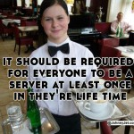 Being a server